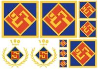 Aufkleber-Set TuS Logo