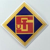 Logo Aufkleber farbig