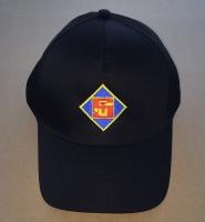 Kappe schwarz mit Logo