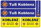 Aufkleber-Set TuS Koblenz