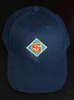 Kappe Blau mit Logo
